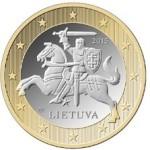 1 eвро Литва_аверс