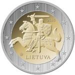 2 eвро Литва_аверс